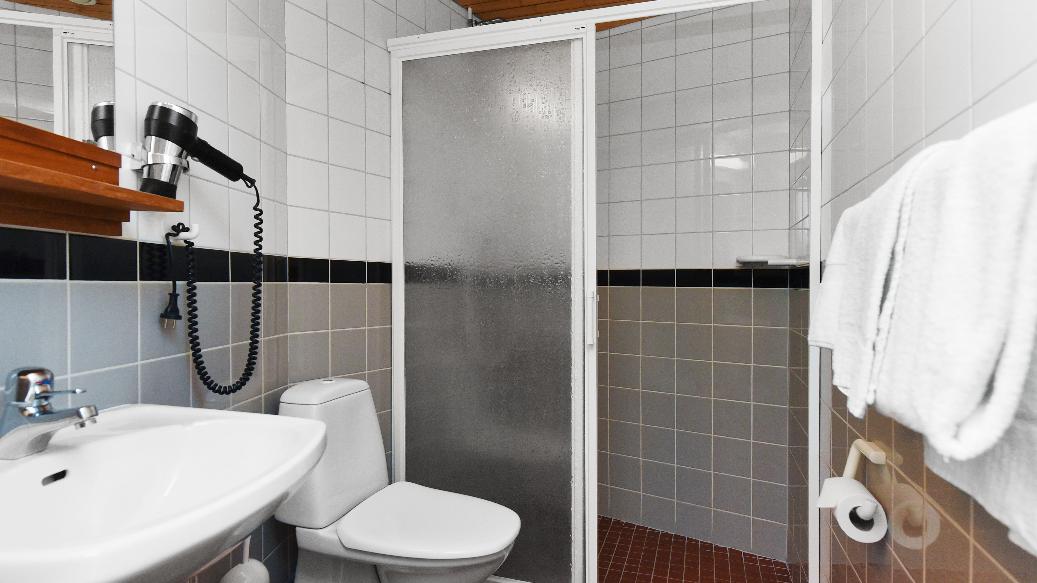 Shower and wc in category Alumni room